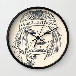 Hail Satan! Wall Clock