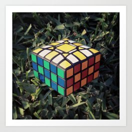 3x5x5 Cuboid Art Print