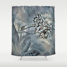 Barely Blue Shower Curtain