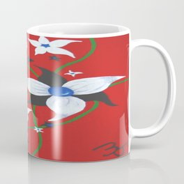 One of Two: Flower Duo Right Coffee Mug
