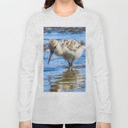 Black Necked Stilt Chick Long Sleeve T-shirt