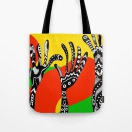 RASTA HANDS Tote Bag