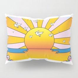 California Sunshine LSD Blotterart Pillow Sham