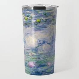 "Claude Monet ""Water Lilies(Nymphéas)"" (9) 1916–19.jpg Travel Mug"