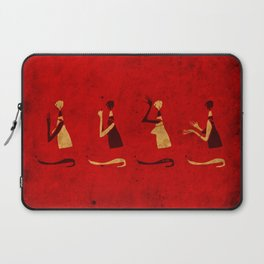 Forms of Prayer - Red Laptop Sleeve