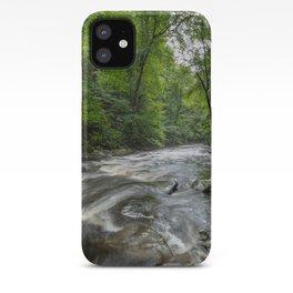 Appalachian Adventure - Ricketts Glen State Park iPhone Case