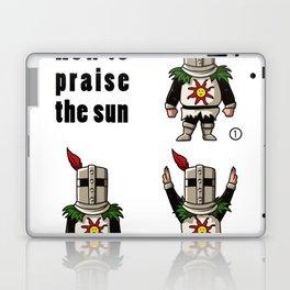 How to praise the sun Laptop & iPad Skin