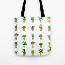 Plant Pots Tote Bag