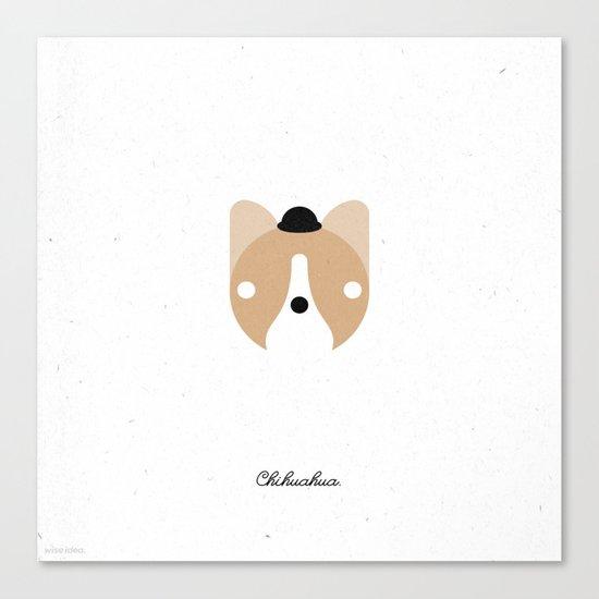 Pedigree: Chihuahua Canvas Print
