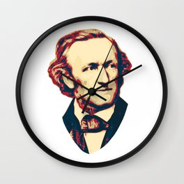 Richard Wagner Wall Clock