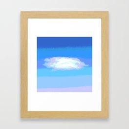 Cloud II Framed Art Print