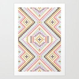 Southwest Geo Print Art Print