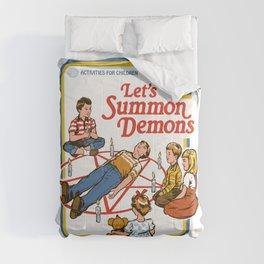 LET'S SUMMON DEMONS Comforters