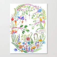Bucolic forest Canvas Print
