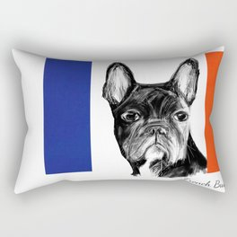 French Bulldog. The Totally French Version... Rectangular Pillow