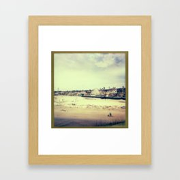 Santa Cruz Boardwalk Framed Art Print