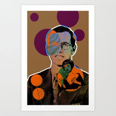 Harvey Wallbanger Cocktail Art Print