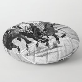 B&W Classy Design #collection I Floor Pillow