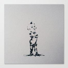 Splaaash Series - Kikirikou Kid Ink Canvas Print