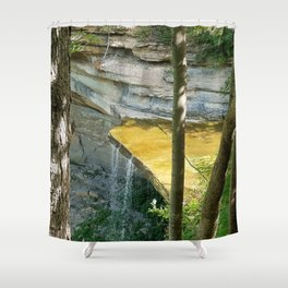 Another Waterfall Shower Curtain