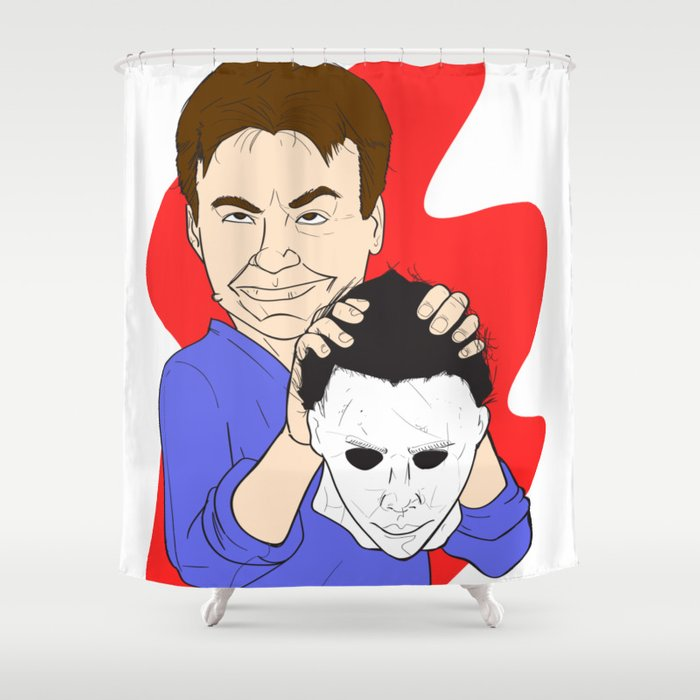 Michael Myers Unmasked Shower Curtain
