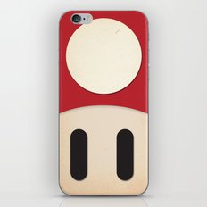 Minimal Powerup iPhone & iPod Skin