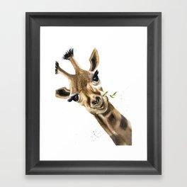 Gitaffe Framed Art Print