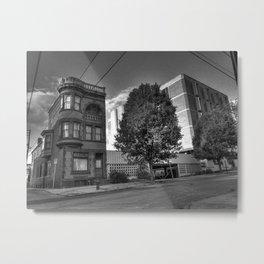 The Burg Metal Print