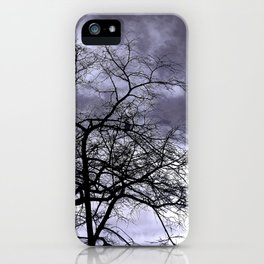 Purple Escape iPhone Case