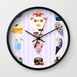 Sailor Senshi Sweets Wall Clock