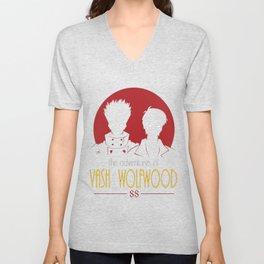 Adventures of Vash and Wolfwood Unisex V-Neck