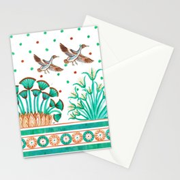 Lotus and Papyrus Stationery Cards