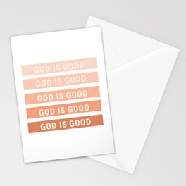 God is Good Stationery Cards