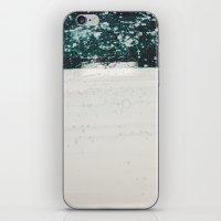 battlestar galactica iPhone & iPod Skins featuring Blue Galactica by Lauren Jane Peterson