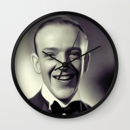 Fred Astaire Wall Clock