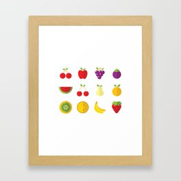 One Fruit A Day Keeps The Doctor Away Framed Art Print