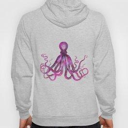 pink Octopus unique underwater creature Hoody