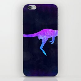WALLABY IN SPACE // Animal Graphic Art // Watercolor Canvas Painting // Modern Minimal Cute iPhone Skin