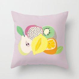 Juicy fruit Throw Pillow