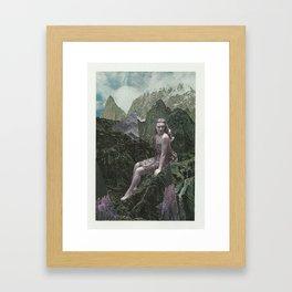 Invisible Girl Framed Art Print