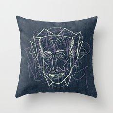 FACE JAM Throw Pillow