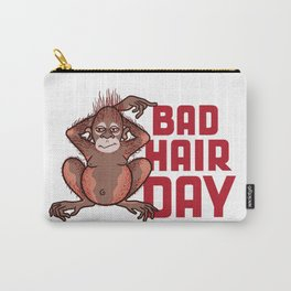 Bad Hair Day Carry-All Pouch