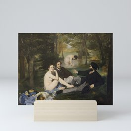 Edouard Manet, Luncheon on the Grass, 1863 Mini Art Print