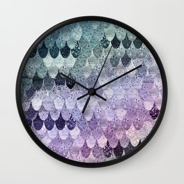SUMMER MERMAID - HAPPY RAINBOW Wall Clock