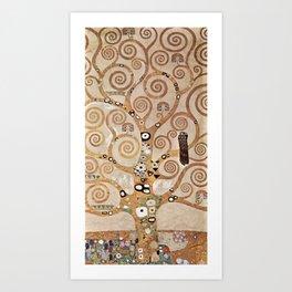 Gustav Klimt - Lebensbaum Art Print