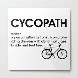 cycopath Metal Print