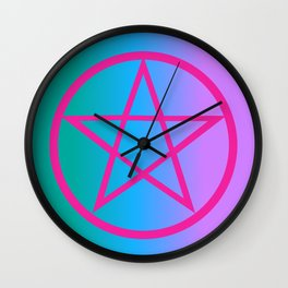 Summoning Circle Wall Clock