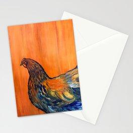 Orange Chicken Stationery Cards