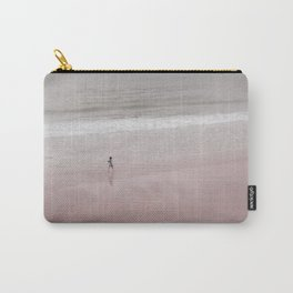Walking on a pink beach Carry-All Pouch