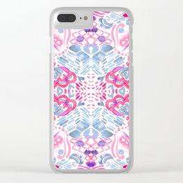 Bohemian Quartz Clear iPhone Case